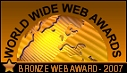 bronze website award
