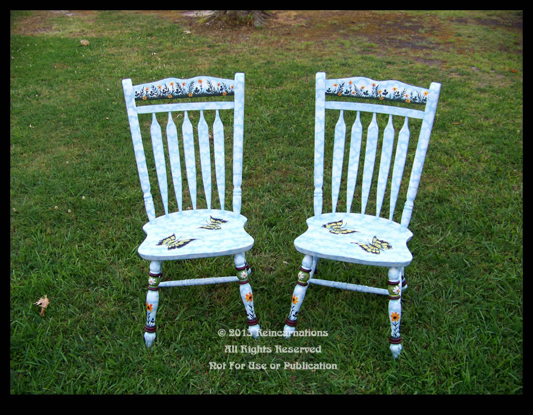 butterfly garden chairs