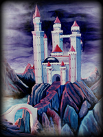 dream castle theme for hand painted furniture